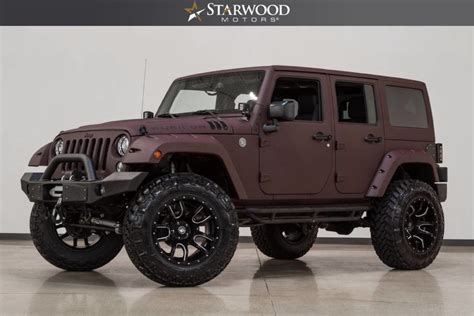 Starwood Motors 2017 Jeep Wrangler Unlimited Rubicon