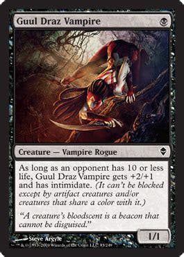 mtg black assassin deck guul draz assassin rise of the eldrazi magic the