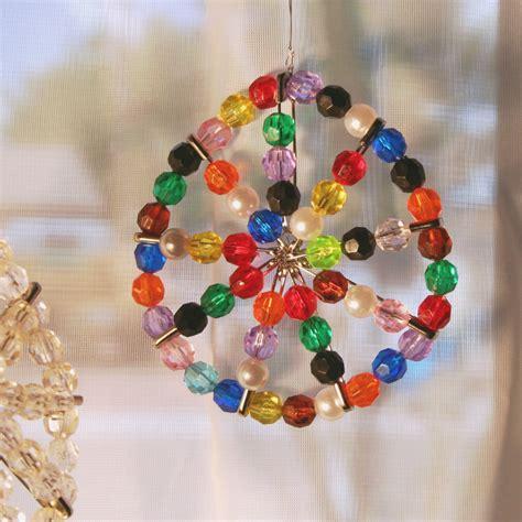 safety pin sun catcher nursing home crafts elderly