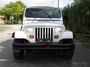 1992 Jeep Wrangler Yj 4 0l I6 4 X 4 5 Speed Manual White