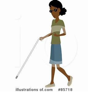 Blind Clipart #85718 - Illustration by Rosie Piter