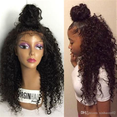 High Ponytail Full Lace Wig Peruvian Glueless Full Lace