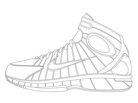 Coloring Nike Air 1 by Air 1 Coloring Pages At Getcolorings Free