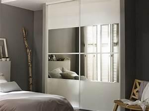 Porte Coulissante Miroir Placard : petite maison comment optimiser votre espace ~ Premium-room.com Idées de Décoration