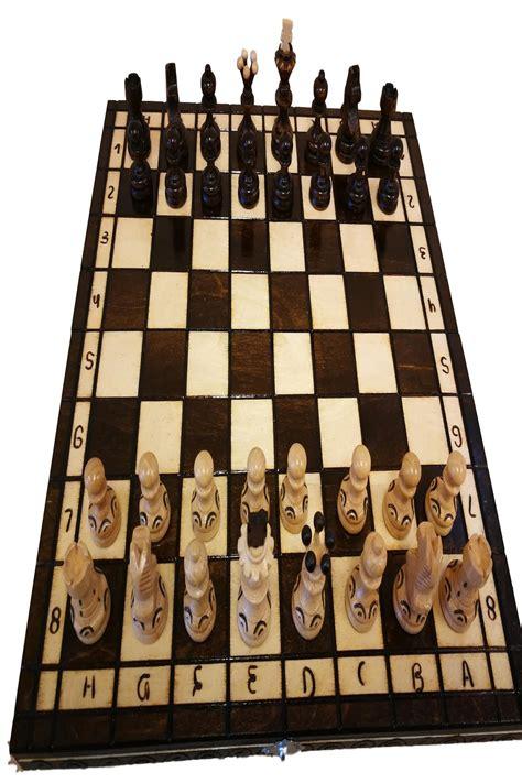 Schachbrett Holz Edel by Schachspiel Schach Holz Mit Figuren Schachbrett Edel