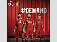 Liverpool Unveil Home Shirt for 201415 Season Official