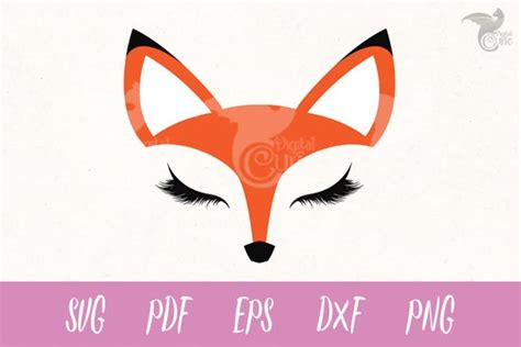 fox clipart face fox face transparent