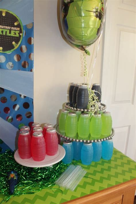 cool teenage mutant ninja turtles party ideas shelterness