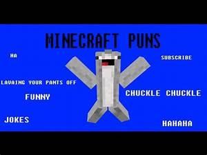 Minecraft PUNS! - YouTube