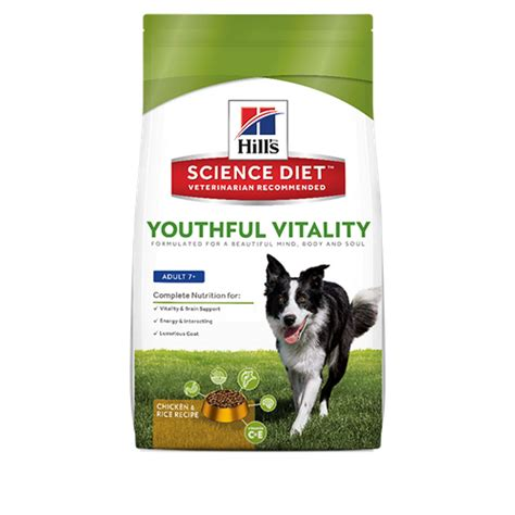science diet youthful vitality    dog hills pet