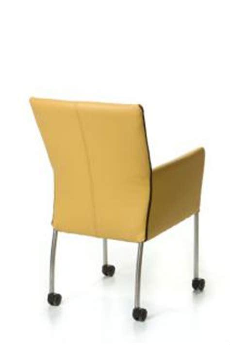 stuhl auf rollen moderner stuhl auf rollen echtleder bezug in verschiedenen farben kaufen bei richhomeshop