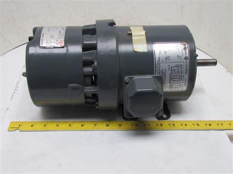 v brake bremsbeläge ge general electric 5k42hg2701a 3ph motor 1 2hp 1725 rpm 230 460v stearns brake ebay
