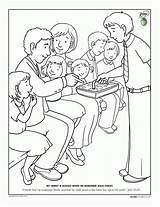 Lds Coloring Pages Nursery Primary Popular sketch template