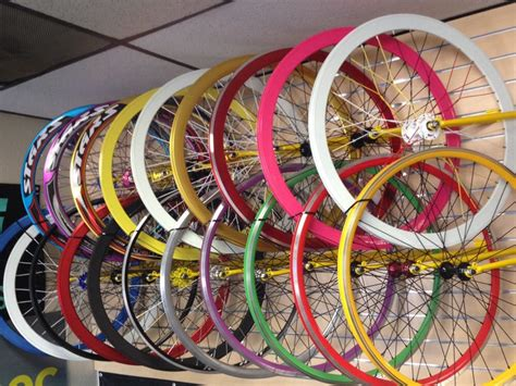 All Kinds Of Custom Wheels For Fixie, Fixies, Road Bikes