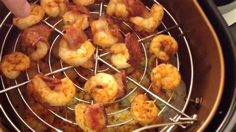 fryer air shrimp bacon power xl wrapped fresh