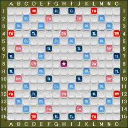 Scrabble Tile Letter Distribution by Words With Friends Board And Tile Distribution
