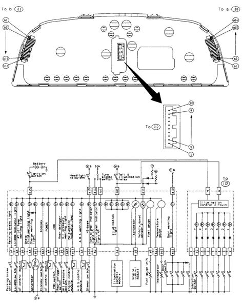 1995 Subaru Legacy Wiring Harnes Diagram by Looking For Evo 8 9 Cluster Wiring Diagram