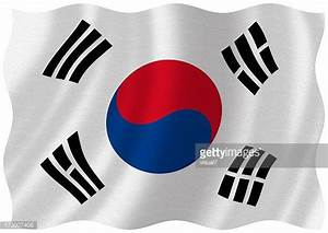 South Korean Flag Stock Photos and Pictures