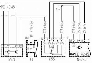 Schaltplan Anlasser W168