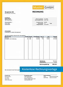 Pflichtangaben Rechnung Kleinunternehmer : kostenlose rechnungsvorlagen scopevisio ag ~ Themetempest.com Abrechnung