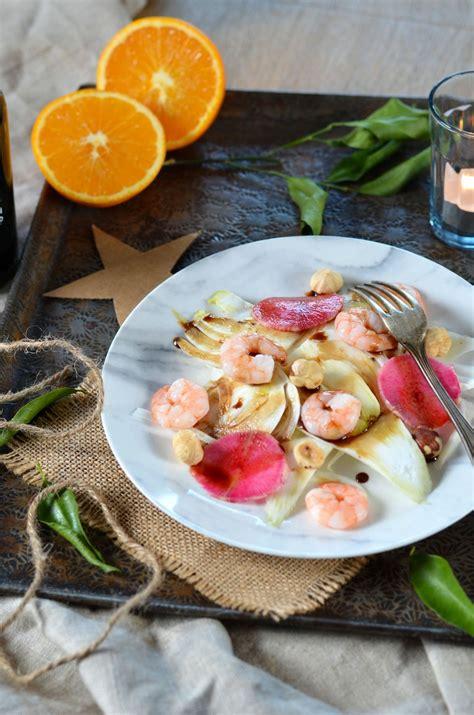 cuisine fenouil salade de fenouil crevettes sauce agrumes et balsamique