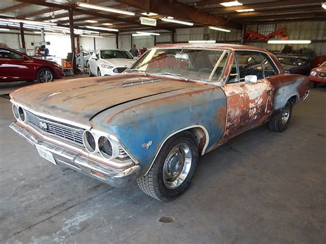 Project For Sale by Complete 1966 Chevrolet Chevelle Coupe Project For Sale