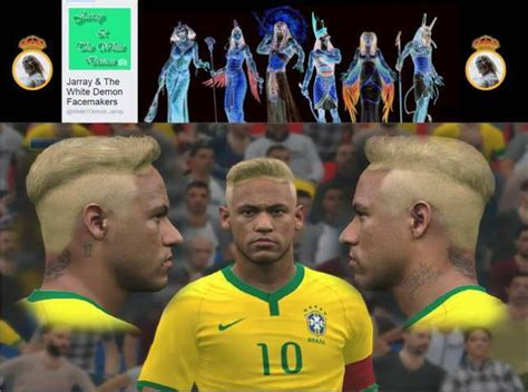 neymar jr  hairstyle pes  patch pes  patch