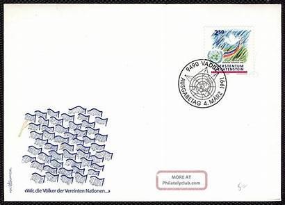Worldwide Fdc Liechtenstein Commemorative Membership 1991 Ph