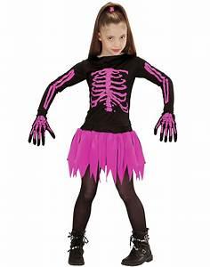Halloween Skelett Kostüm : halloween rosa skelett kost m f r m dchen kost me f r ~ Lizthompson.info Haus und Dekorationen