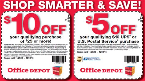 Office Depot Coupons For Electronics by Office Depot Officemax Coupons Savings