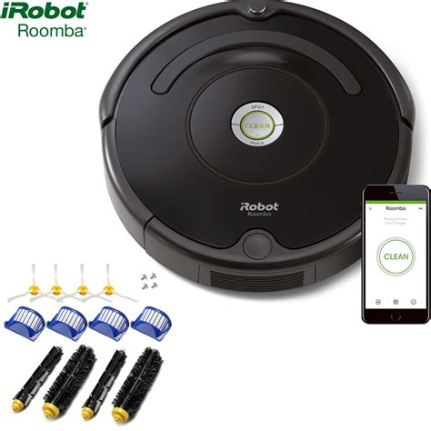 irobot roomba  robot vacuum  wi fi connectivity
