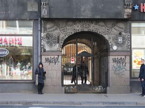 Brīvības iela 62. Fasādes vienkāršotā atjaunošana.