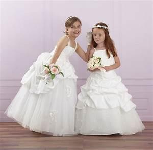 Robe de ceremonie tati fillerobe mariage pour petite for Robe de fete fille