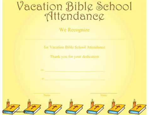 Free Vbs Certificate Templates by 24 Best Images About Church Certificaes On
