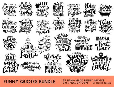 You've come to the right place! Funny Quotes SVG Cut File Bundle Deal Cut File for Cricut ...
