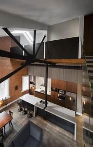 Une ancienne usine transformee en loft proche du marche for Maison en bois quebec 5 un splendide condo situe dans une ancienne usine 224
