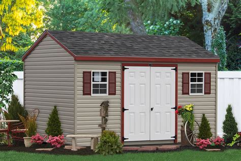The Premier Outdoor Garden Sheds Collection