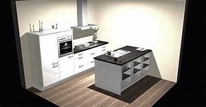 Küche Mit Granitarbeitsplatte : nobilia musterk che moderne k che mit insell sung und massiver granitarbeitsplatte ~ Sanjose-hotels-ca.com Haus und Dekorationen