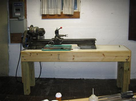 lathe bench  woodworking