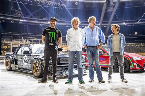 hoonigan cars real life ken block teams up with quot clarkson hammond and may live