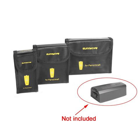 lipo battery explosion proof dampproof fireproof safety bag storage case charging guard