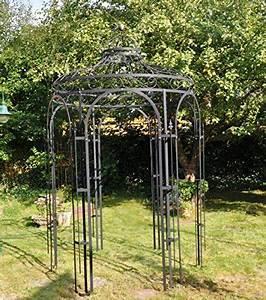 Pavillon Aus Metall : stabiler gartenpavillon aus metall schwarz ~ Michelbontemps.com Haus und Dekorationen