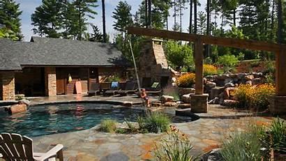 Pool Swimming Backyard Swing Pools Rope Diving