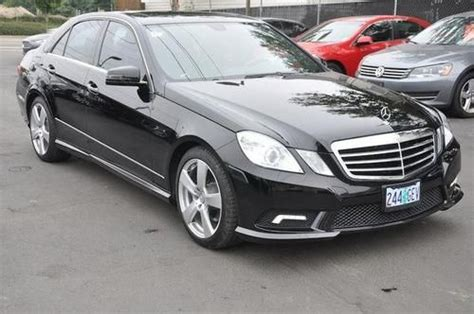 Purchase Used 2011 Mercedes-benz E-class 4matic 2010 2012