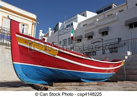 Portuguese Fishing Boat Plans by Stock Images Of Traditional Portuguese Fishing Boat In