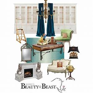 Disneyhome- Beauty and the Beast Library Inspired room by ...