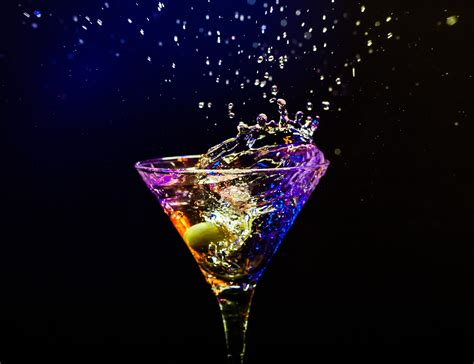 martini glass background wallpaper black background night reflection drink