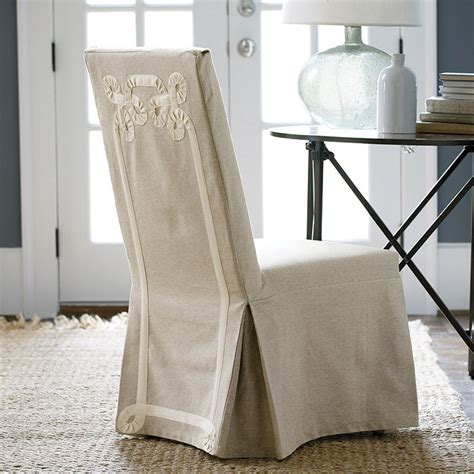 parson chair slipcovers parsons slipcover twirls ballard designs