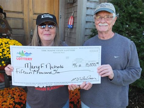 Southporters Win ,000 In Maine Lottery
