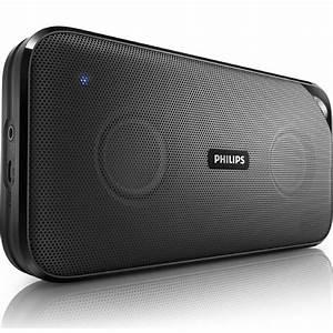 Enceinte Radio Bluetooth : philips bt3500 noir dock enceinte bluetooth philips ~ Melissatoandfro.com Idées de Décoration